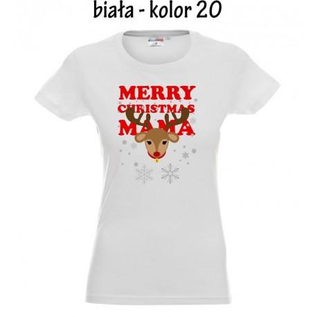 Koszulka Damska - Merry Christmas Mama