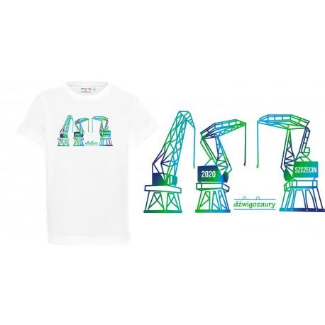 Koszulka dziecięca - Dżwigozaury 2 NZ