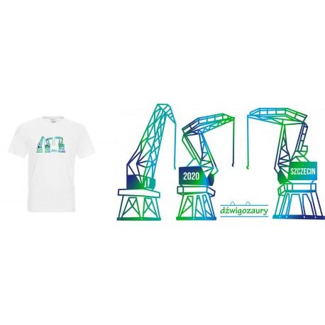 Koszulka Męska - Dźwigozaury 2 NZ