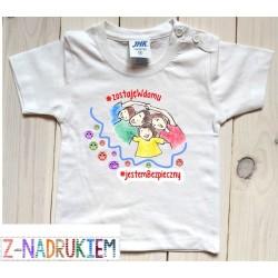 Koszulka dziecięca - zostaje w domu 2