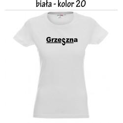 Koszulka Damska - Grzeszna na czarno
