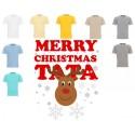 Koszulka Męska - Merry Christmas Tata