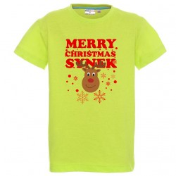 Koszulka dziecięca - Merry Christmas Syn
