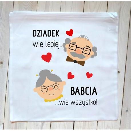 Poduszka Dziadek i Babcia
