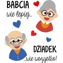 Poduszka Babcia i Dziadek