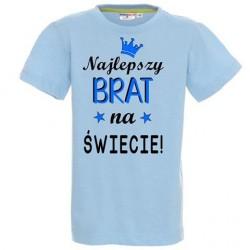 Koszulka dziecięca - Najlepszy Brat na świecie