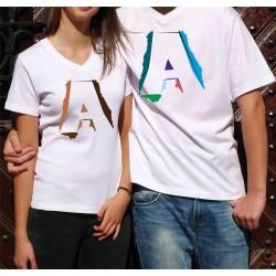 Koszulka Damska - A ozdobne